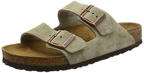 Birkenstock Women´s Arizona Taupe Suede Sandals 36 N EU N 051463 by Birkenstock