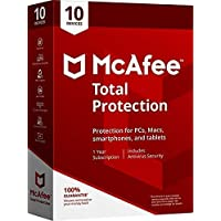 PREMIUM OFFER 2019 @16,79 Mcafee Total Protection 10 DEVICES, Delivery on same day via Amazon Message - Download software link and Activation key -