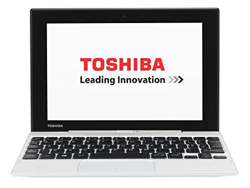 Toshiba Satellite Click Mini L9W-B-102 22,61 cm (8,9 Zoll) Convertible Notebook (Intel Atom Z3735F, 1,3GHz, 2GB RAM, 32GB SSD, Touchscreen, Win 8.1) weiß