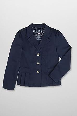 French Toast School Uniforms Girls Twill Blazer - P9112 - Navy, 4