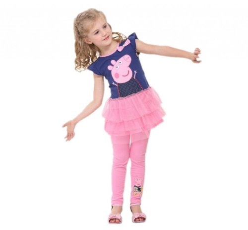 peppa pig girl u0026 39 s dress fashion clothing kids cartoon wear