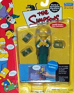 Playmates - The Simpsons - World of Springfield Interactive Figures - Series 1 - Montgomery Burns figure w/custom accessories ()