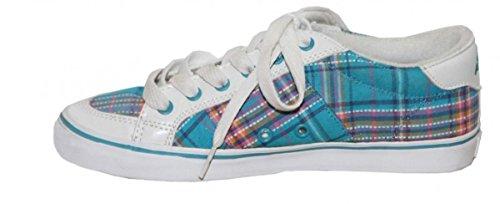 Adio Skateboard Shoes Daily Girls White/Light Blue