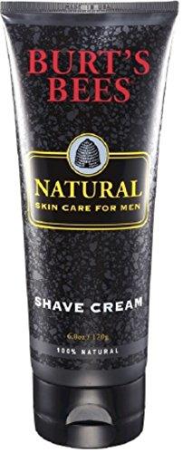 Burt's Bees Natural Skin Care for Men Shave Cream 6 oz (Pack of 6)