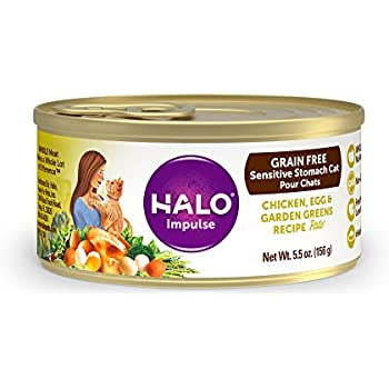 Amazon halo holistic wet cat food for sensitive stomachs halo holistic wet cat food for sensitive stomachs grain free chicken egg and forumfinder Choice Image