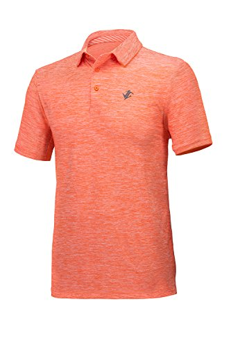 Jolt Gear Mens Dry Fit Golf Polo Shirt, Athletic Short-Sleeve Polo Golf Shirts