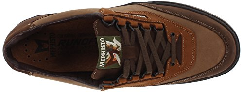 Mephisto Men's Match Walking Shoe Dark Brown/Camel/Hazelnut Nubuck discount shop for Nycs9YJF