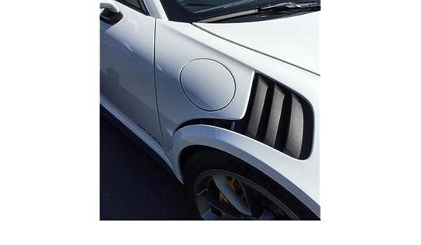 Amazon.com: Porsche 991 GT3RS Style Front Fenders w/ Iconic Fender Louvered Grills: Automotive