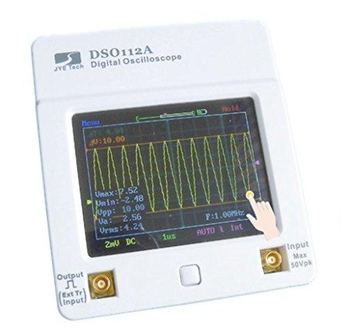 超小型 タッチパネル式 オシロスコープ DSO112A