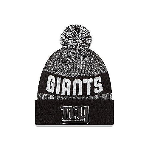 huge discount 76a70 73afa buy nfl new york giants 2016 sport knit beanie one size black white 3d7df  9cbbd