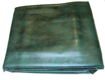 Iszy Billiards 9 Foot Heavy Duty Fitted Leatherette Pool Table Billiard Cover Green ()