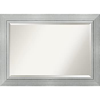 Bathroom mirror extra large fits standard 30 - Standard bathroom mirror dimensions ...
