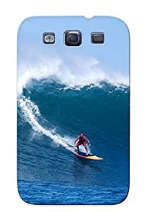 Honeyhoney Protection Case For Galaxy S3 / Case Cover For Christmas Day Gift(surfing Surf Ocean Sea Waves Extreme Surfer (36) )