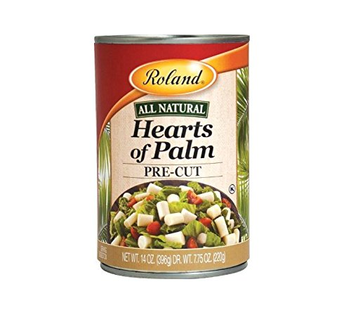 - Roland Hearts of Palm, Pre-Cut, 14 Ounce (Pack of 6)