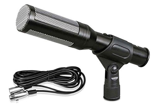 Pyle PDMIC35 Shotgun Microphone Electret Condenser Mic with