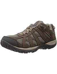 Mens Redmond Waterproof Low Hiking Shoe, Advanced Traction Technology