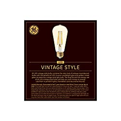 GE Lighting 42196 Dimmable LED Vintage Style ST19