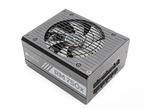 Corsair RMx Series, RM750x, 750W, Fully Modular Power Supply, 80 PLUS Gold Certified