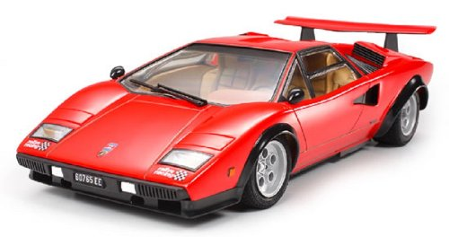Amazon Com Tamiya Models Lp500s Lamborghini Countach Kit Toys Games