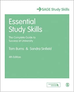 good essay writing sage study skills series amazon co uk peter  essential study skills the complete guide to success at university sage study skills series