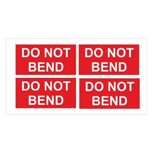 Do not Bend Parcel Stickers School Stickers