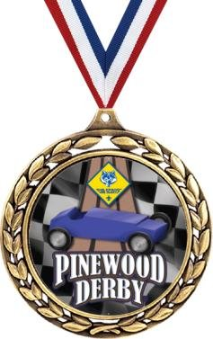 Pinewood Derby Medal – 2.5