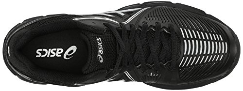 ASICS Women's Gel Netburner Ballistic MT Volleyball Shoe, Black/Silver, 7 M US by ASICS (Image #8)