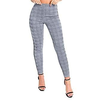 Mujer Pantalones Stretch Estrechos, Pantalones Trabajo Mujer ...