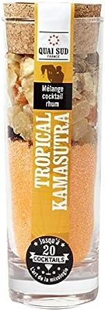 Vaso de ingrédients para mezcla cóctel Tropical Kamasutra ...