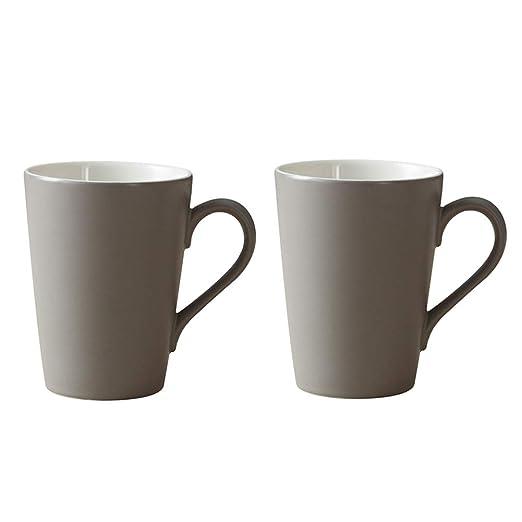 WFSH Juego de 2 Tazas de café Tazas de té Hogar Cocina Accesorio ...
