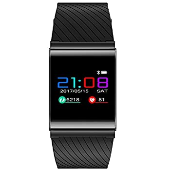 Fitness Tracker, Smart, pantalla táctil Smart Reloj de pulsera, Deporte y Business Watch para tensiómetro de ...