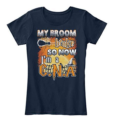 My Broom Broke so. XL - New Navy Women's Premium Tee - Women's Premium Tee for $<!--$21.99-->
