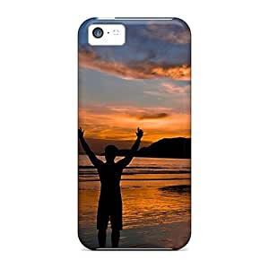 linJUN FENGE-Lineage Fashion Protective Freedom Beautiful Natural Case Cover For ipod touch 5