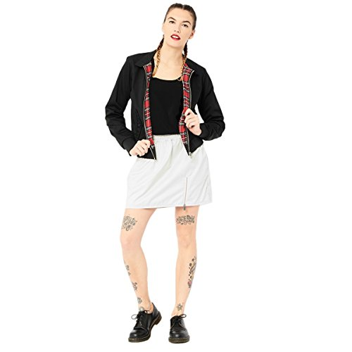Harrington Damen Rock Weiß ehYBUP