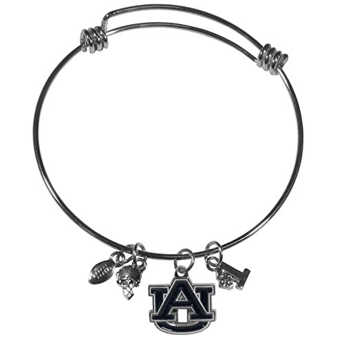 Siskiyou NCAA Auburn Tigers Charm Bangle Bracelet