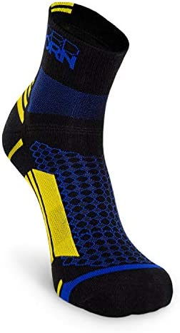 Nordhorn Sportsocken für Herren und Damen, Quarter Sneaker Socken Atmungsaktiv zum Laufen, Joggen, Fitness, Radfahren