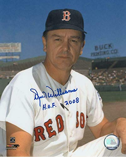 Dick Williams Boston Red Sox Hof 2008 Autographed Signed Memorabilia 8x10 Photo - Certified Authentic