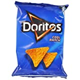 Doritos Tortilla Chips, Cool Ranch, 1 Ounce Bags (Pack of 60)