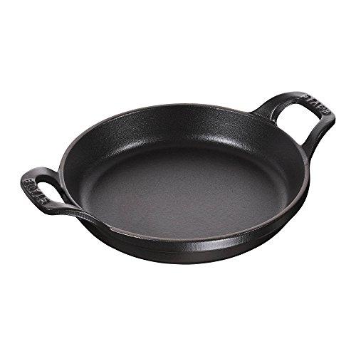 Staub Mini Round Roasting Dish, Black Matte, 8 oz. - Black Matte by Staub