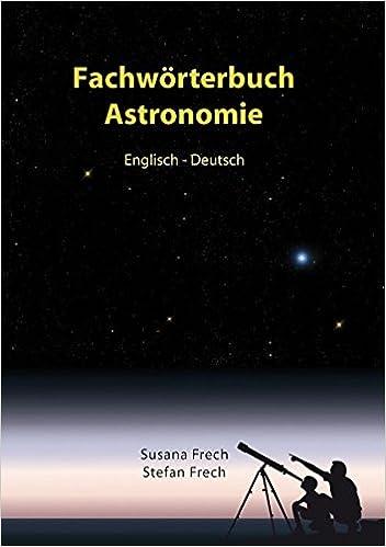 Fachwörterbuch Astronomie