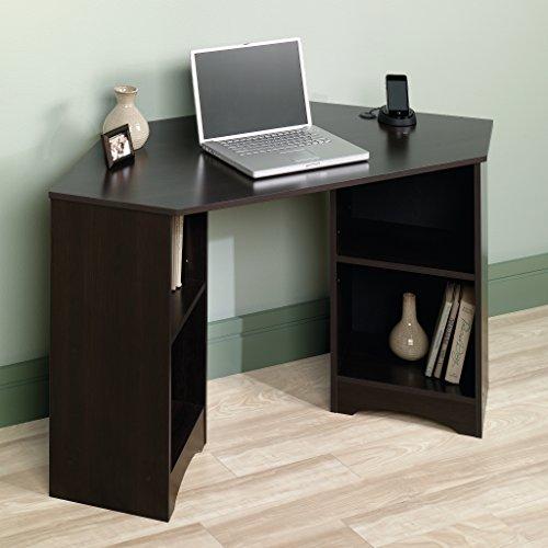 Sauder Beginnings Corner Desk, Cherry Featured Sauder