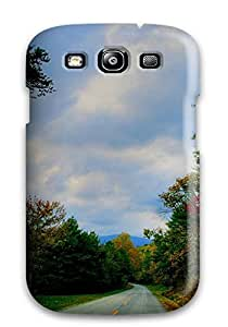 AnnaSanders GYKCest2226BGXEM Case Cover Galaxy S3 Protective Case Road Man Made Road