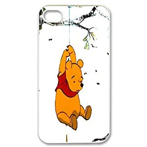 James-Bagg Phone case Winnie The Pooh Protective Case For Iphone 4 4S case cover Style-6