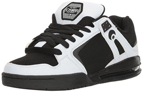 Scarpe Da Skateboard Oslis Mens Pxl Bianco / Nero / Bianco