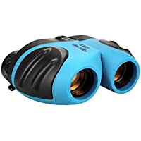 TOP Gift 8x21 Shockproof Roof/Dach Prism Binocular (Blue)