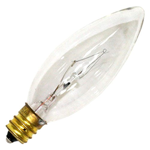 Luminance 08905 - L1004 40B8/C/3 B8 Decor Torpedo Light Bulb ()