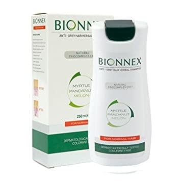 Bionnex ANTI-GREY HAIR HERBAL SHAMPOO For Normal Hair 250ml - For men and  women  Amazon.co.uk  Health   Personal Care db2b82d24ca7