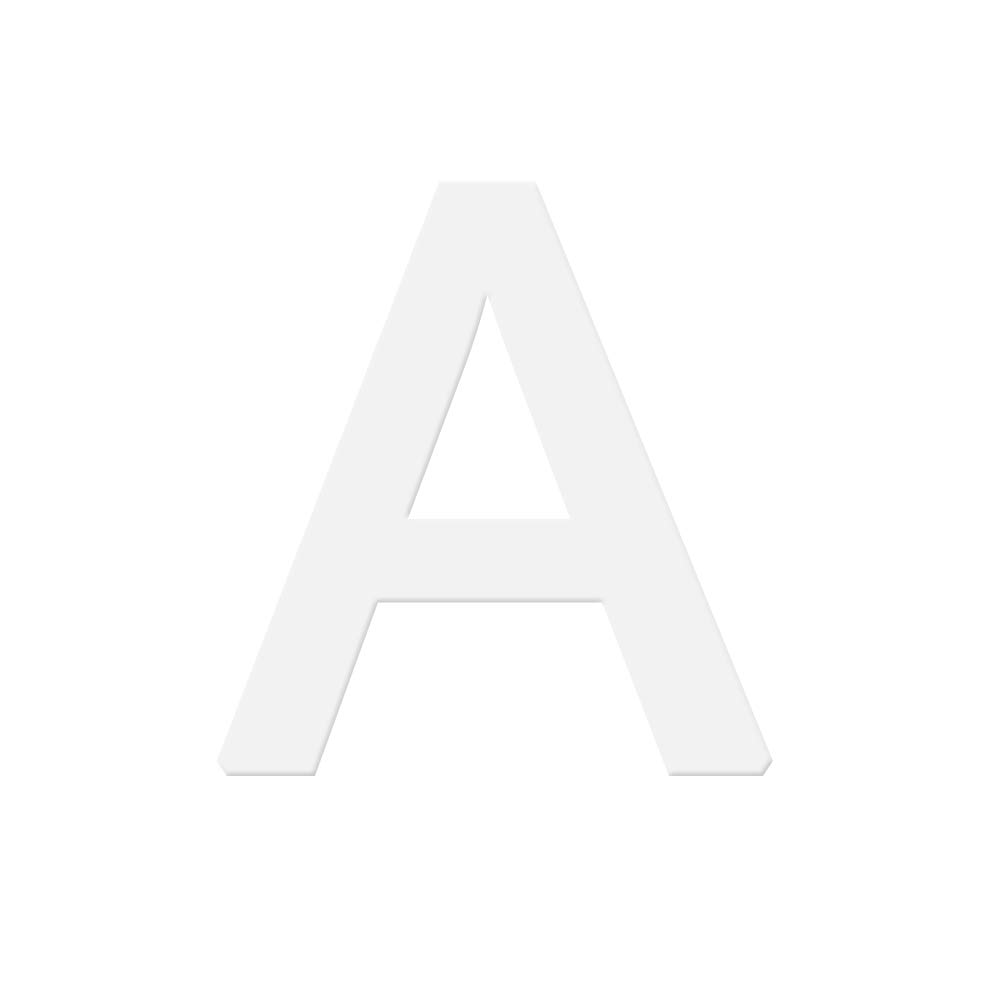 Danigrefinb cuisson Accessoires et décoration de gâteaux 15,2cm English Lettre Alphabet Moule à Cake Fondant au chocolat Décoration outils de cuisson Moules à gâteaux, S