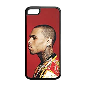 Customize Generic Rubber Phone Cover Chris Brown Back Case Suitable For iPhone 5c