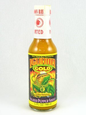 Iguana Gold Island Pepper Sauce - Pack of 3